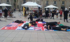 Commémoration HIROSHIMA Place de la Libération DIJON